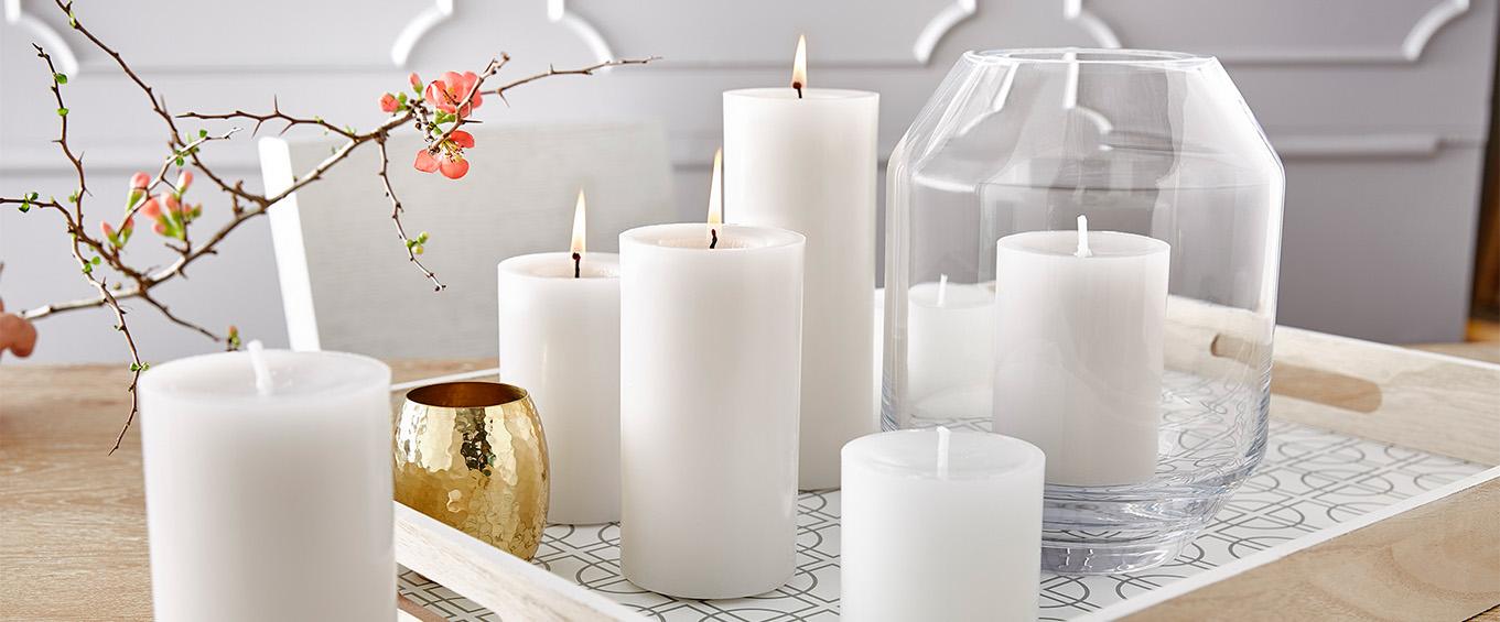 Kerzen: Stumpenkerzen von Engelskerzen