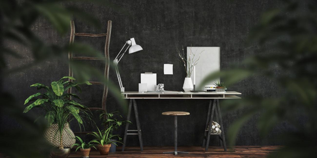 Arbeitszimmer dekorieren: Ort der Inspiration