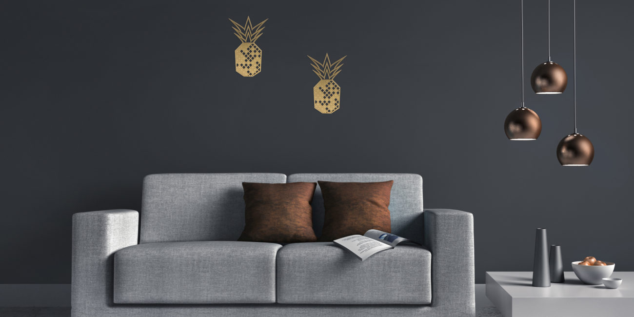 Projekt: Wanddeko Wohnzimmer! - nahgemacht.de