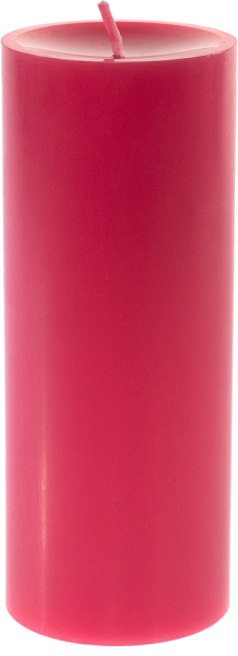 Stumpenkerze XL - Fuchsia
