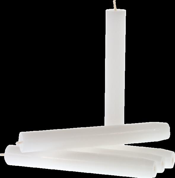 Stabkerze Weiß (5er-Pack)