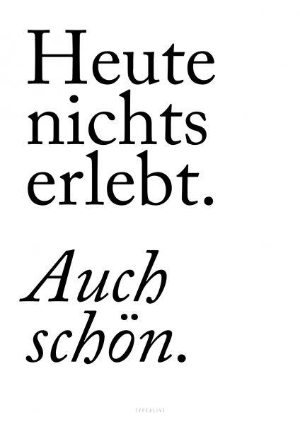 """A4-Print """"Auch schön"""""""