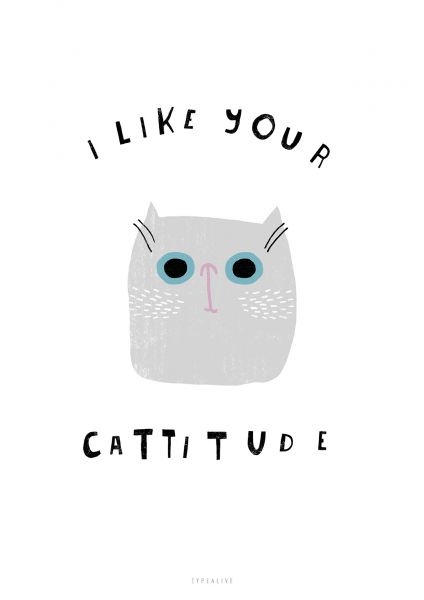 """A4 Print """"Catisfaction No. 6"""""""